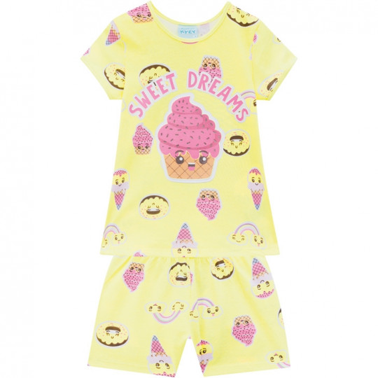 Pijama Verão Kyly 4/12 110575