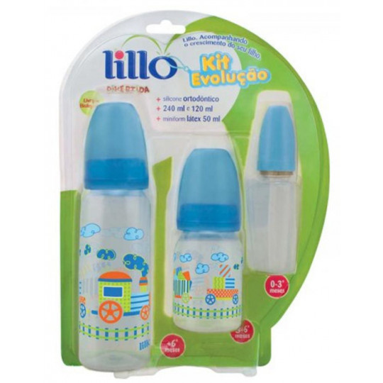 Kit Mamadeira Lillo Evolucao 61311