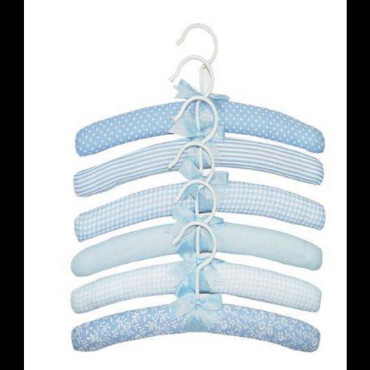 Kit Cabides Acolchoados estampado Azul