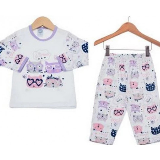Pijama inverno Piu Piu M 4187