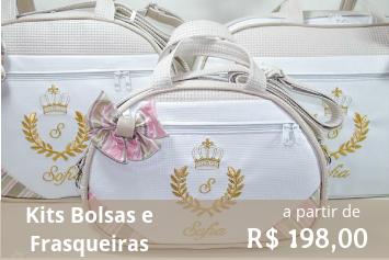 kit bolsa frasqueira